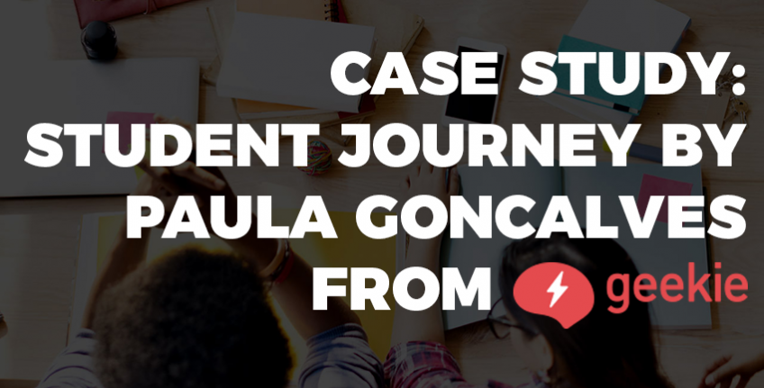 Case study: student journey buy Paula Goncalves from Geekie