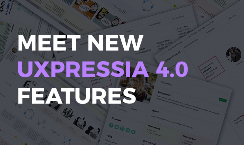 Meet new UXPressia 4.0 features