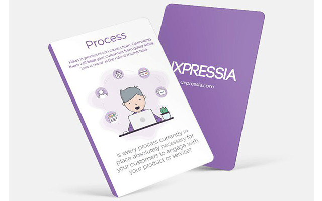 UXPressia journey mapping cards