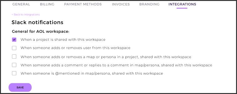 Slack notifications UXPressia