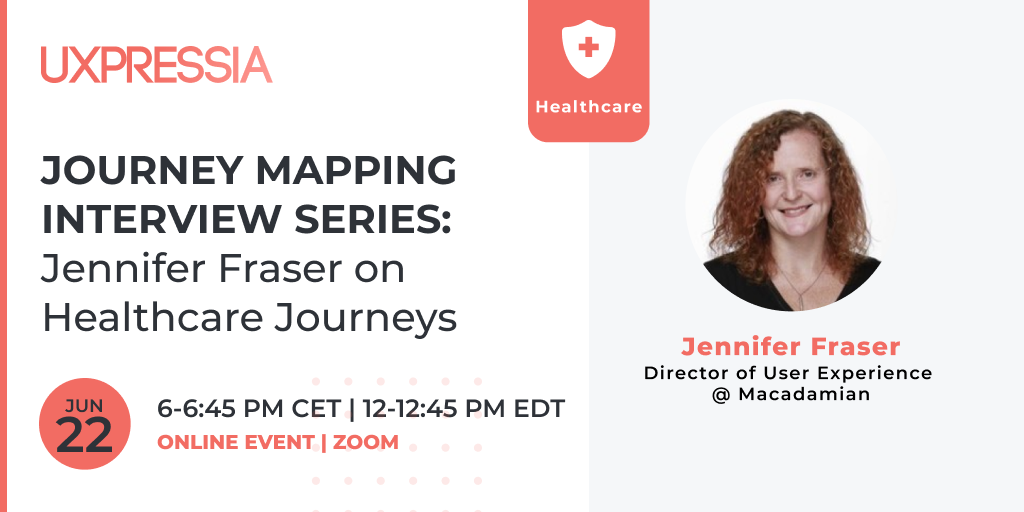 online event about journey mapping in healthcare