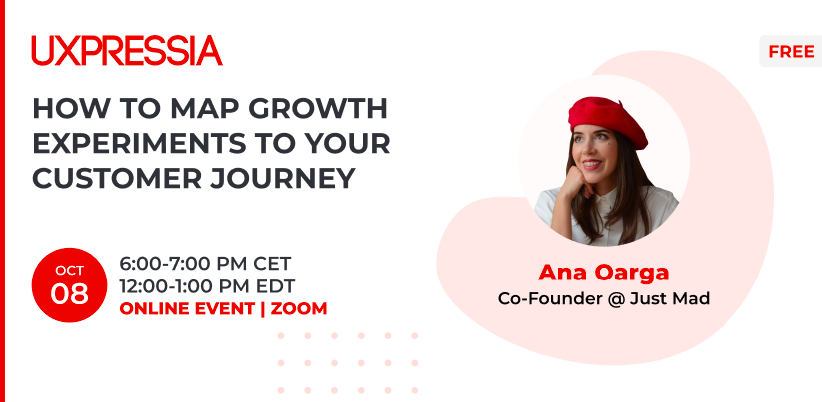 Mapping growth experiences with Ana Oarga