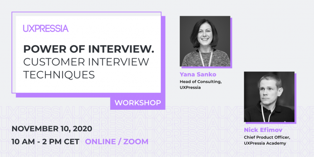 power of interview workshop