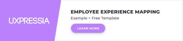 employee experience journey template banner