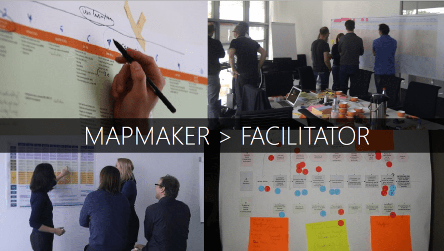 from mapmaker to facilitator