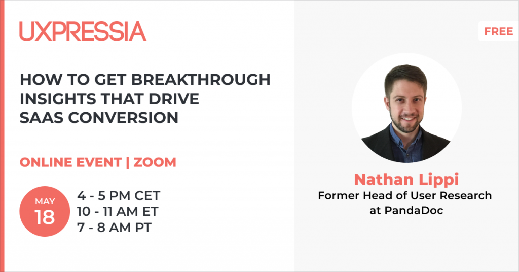 How to get breakthrough insights that drive SaaS conversion promo
