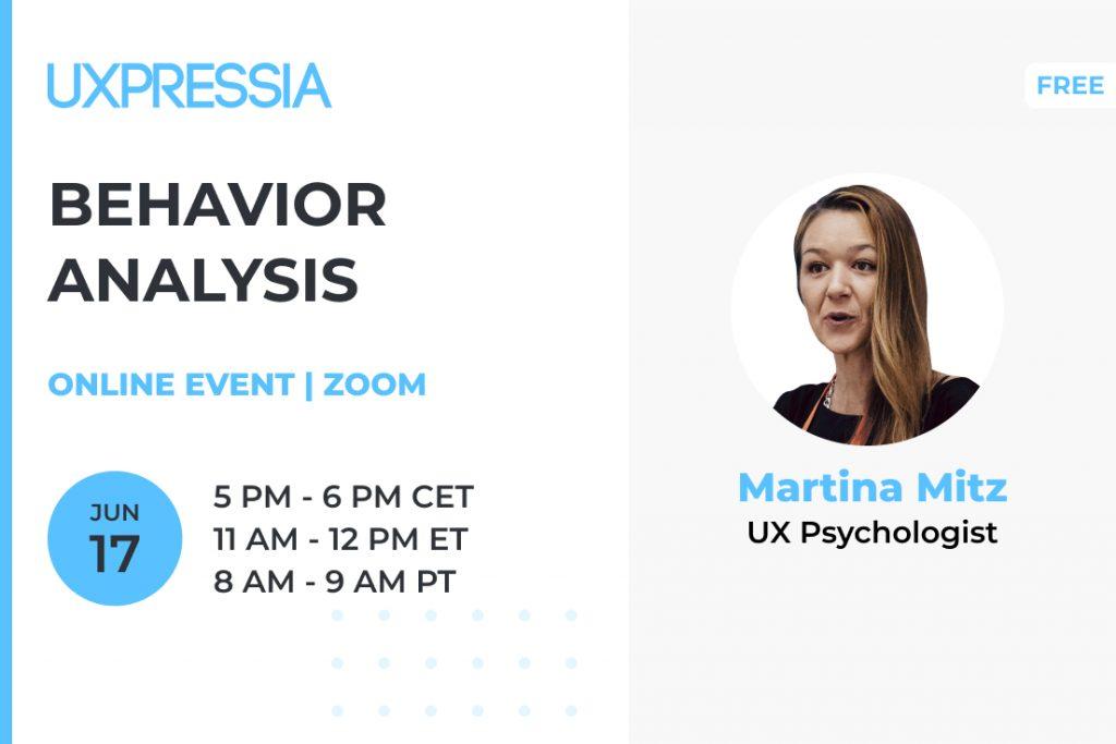 Behavior Analysis with Martina Mitz