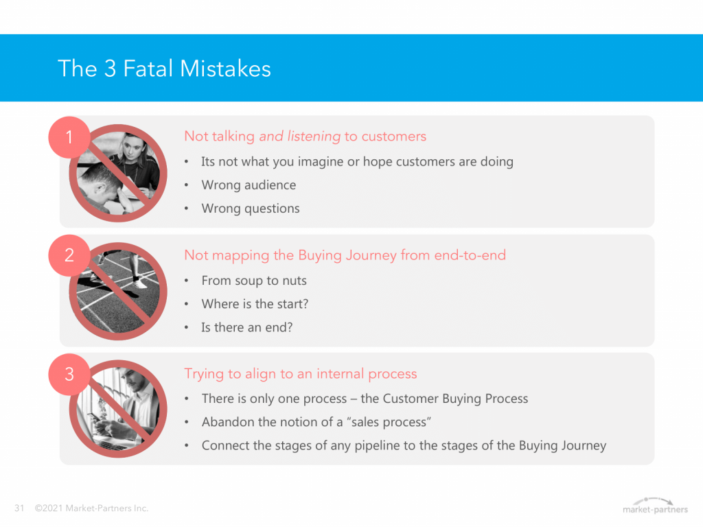 The 3 fatal mistakes of buying journey mapping
