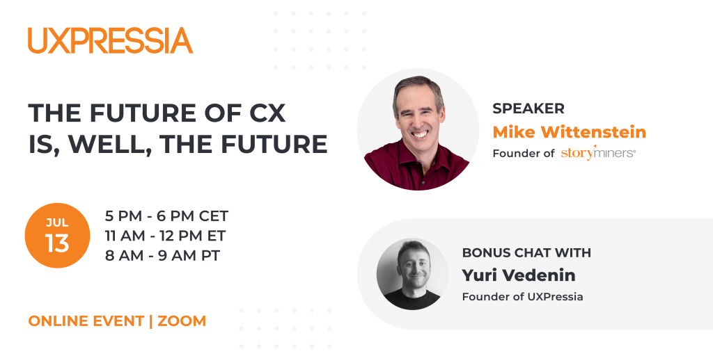 New event: The future of cx, is, well, CX