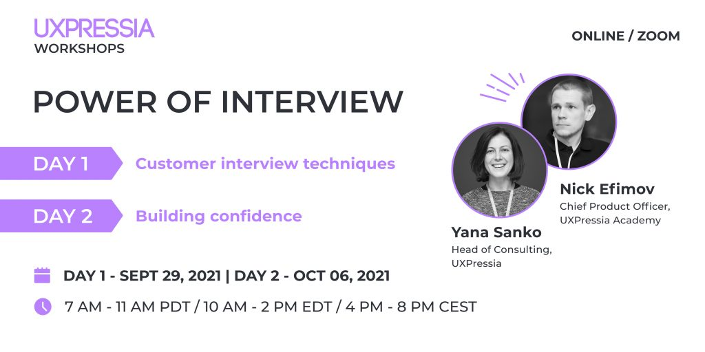 power of interview workshop promo