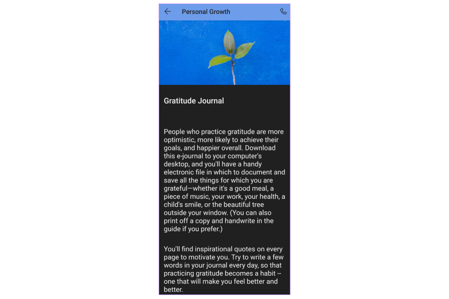 LifeWorks app