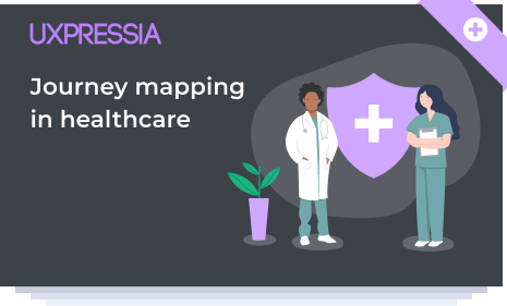 Free healthcare journey mapping set